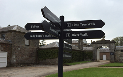 Signage Facelift for National Trust