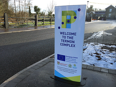 New signs for the New Termon Complex