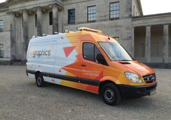New Workshop Van for LE Graphics