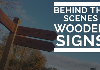 Making Wooden Signs – A behind the scenes look